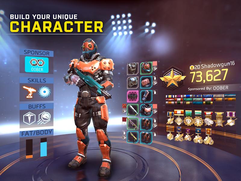 SHADOWGUN LEGENDS: Multiplayer FPS Shooting game Screenshot 13