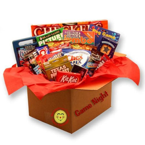 A board game gift basket can be a great summer wedding gift ideas