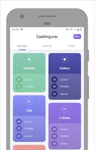 Codinguru: Learn Programming with quiz 3.0.3 (Pro)