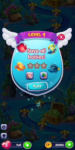 Bubble Blast : Fish Rescue screenshot 3