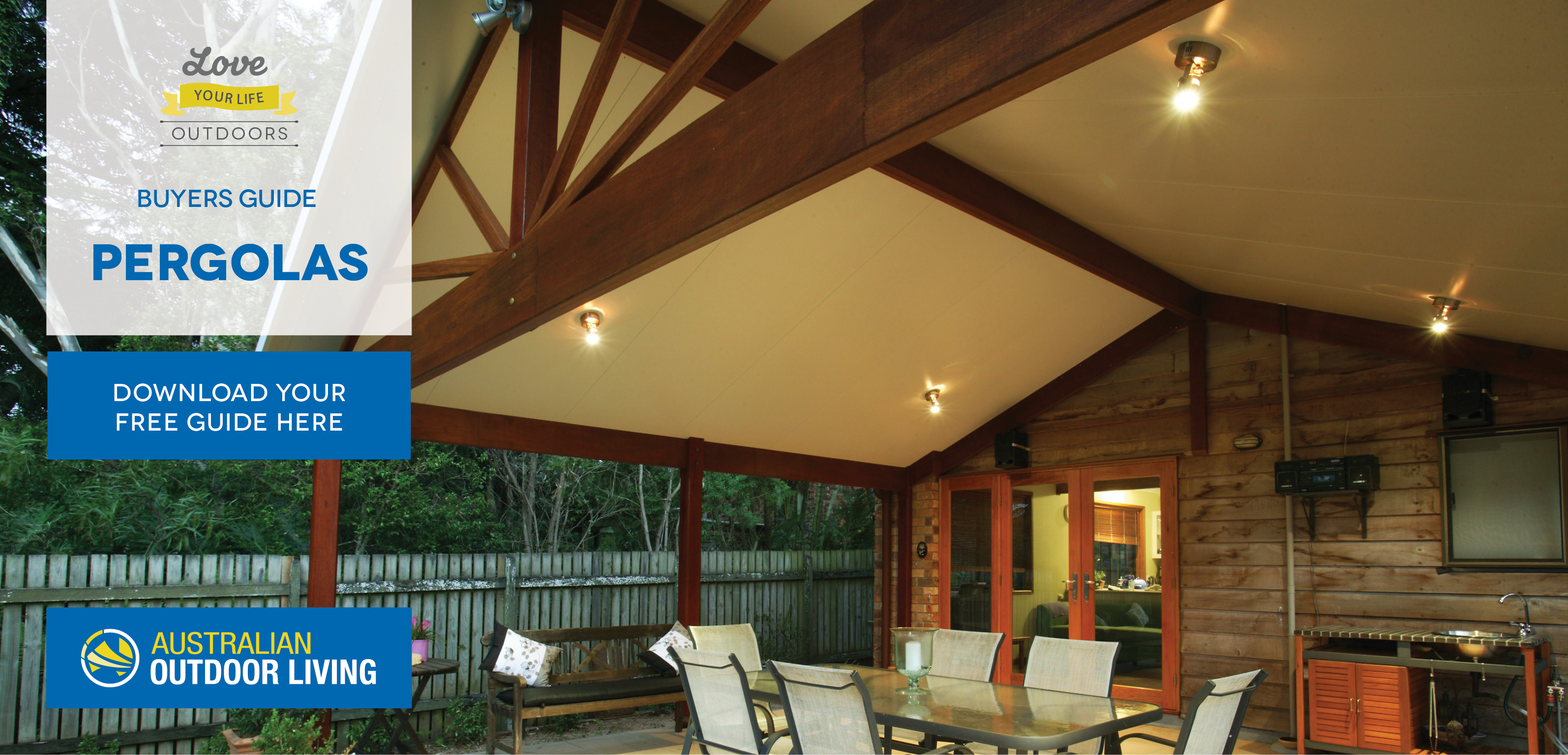 Creative Pergola Lighting Ideas Australian Outdoor Living