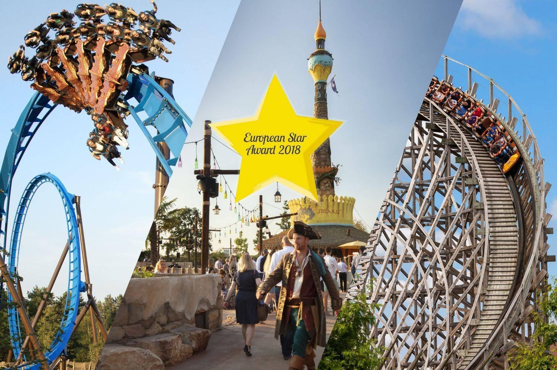 Toverland wint European Star Award voor Beste Attractiepark