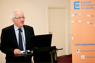 Photo: Jozef De Witte – Chair of the Equinet Executive Board and Director of the Centre for Equal Opportunities and Opposition to Racism (Belgium)