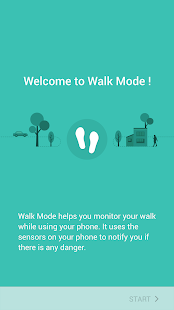 Walk Mode Screenshot