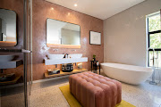 The bathrooms are every bit as stylish and luxurious as the guest rooms at Camissa House.