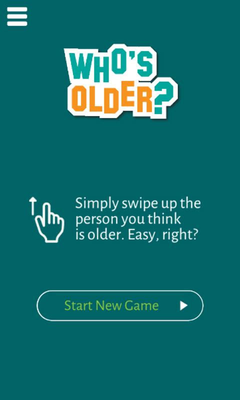 Who's Older? Quiz Game- screenshot