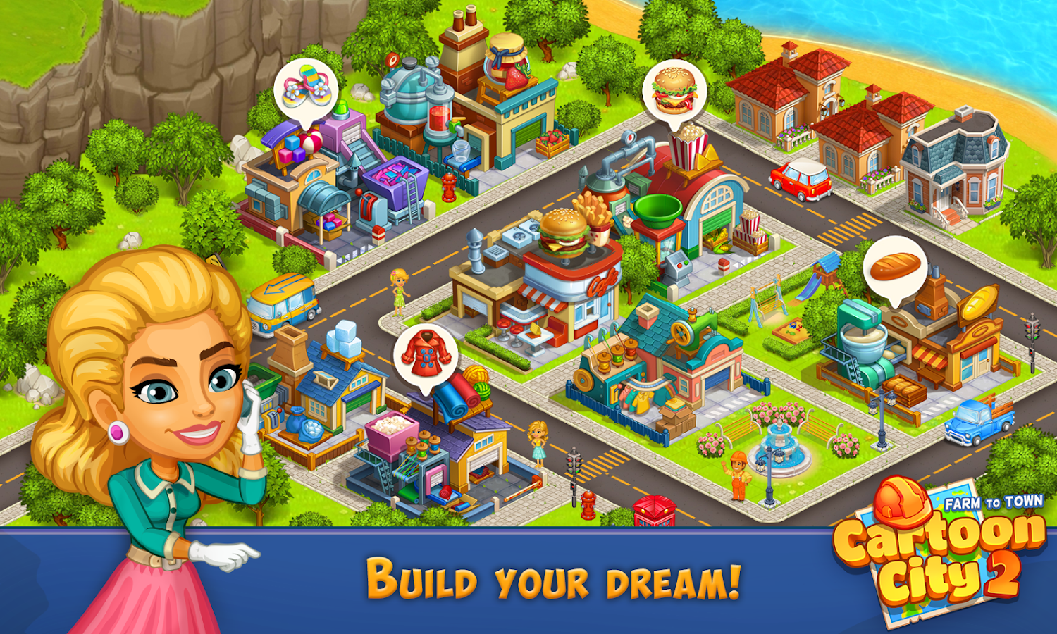 Cartoon City 2 Farm To Town Android Apps On Google Play