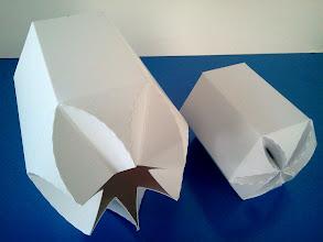 Photo: Caixas (21) grande e pequena para produtos diversos (vistas por cima).