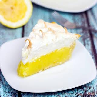 Classic Lemon Meringue Pie.