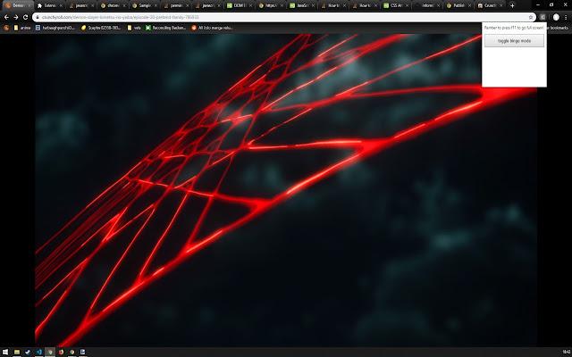 Crunchyroll Full Screen, All The Time