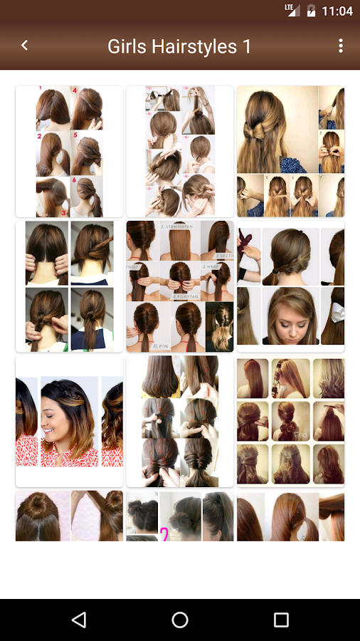 Girls Easy Hairstyles Steps Android Apps On Google Play - Easy hairstyle videos download