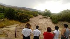 El río Nacimiento, esta tarde.
