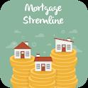 Mortgage streamline icon