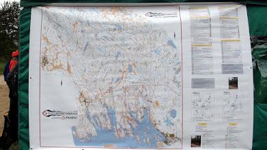 Photo: Карта гонки