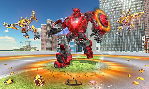 US Police Transform Iron Robot Spider Hero 1.0.3 screenshots 7