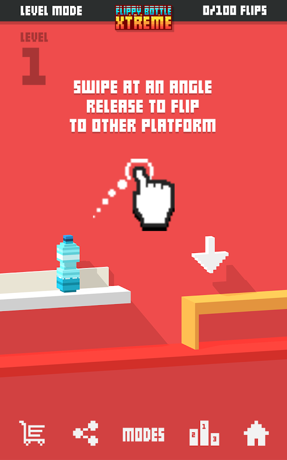 Flippy Bottle Extreme!- screenshot