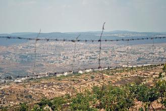 Photo: A Jewish settlement near Bethlehem, West Bank.