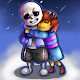 Undertale Wallpaper Frisk and Sans for PC-Windows 7,8,10 and Mac
