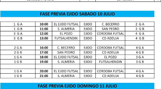 Arranca el Torneo Infantil 'Costa de Almería' con 10 encuentros este sábado