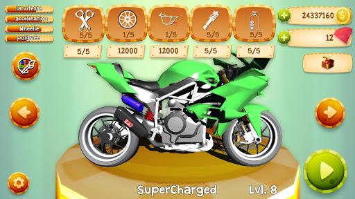 Code Triche Drag Bikes Online  APK MOD (Astuce) screenshots 5