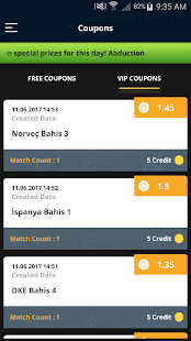 Vip Iddaa Estimates and Coupons - náhled