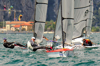 Photo: SPORT VELA CAMPIONE D/G UNIVELA D-ONE EUROPEAN CHAMPIONSHIP  NELLA FOTO   REGATA    2013-06-22  WWW.GARDAHD.IT  RENZO DOMINI