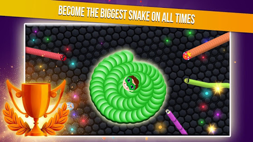 Slither Snake.io - Worm Eater Dash With Masks  screenshots 4