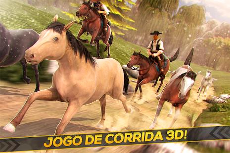 Corridas de Cowboys em Cavalos screenshot