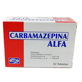 Carbamazepina Alfa 200 mg x 10 Tabletas