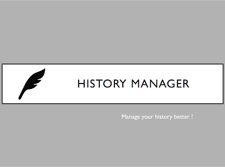 History Manager