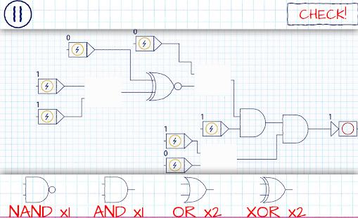 Logic Gates – Electronic Simulator and learning! 6