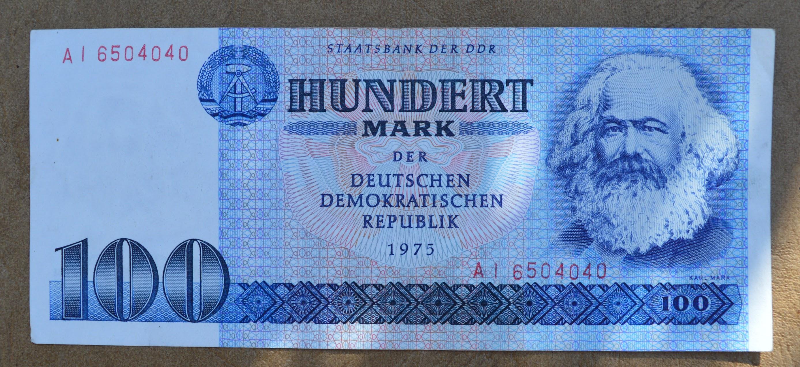 100 DDR Mark