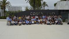 Foto de familia con todos los participantes, tanto ponentes como asistentes, en la XIIedición del seminario 'Líderes del Futuro'.