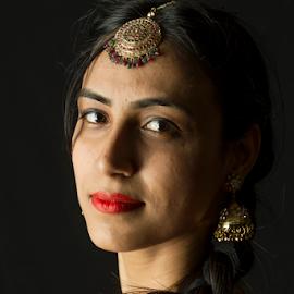 by Trevor Bond - People Portraits of Women