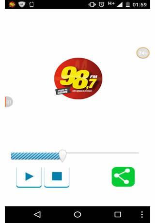 Rádio 98 fm A Radio da cidade
