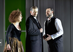 Photo: Theater an der Wien: La mère coupable Oper in drei Akten von Darius Milhaud . Premiere am 8.5.2015 . Angelika Kirschlager, Markus Butter, Aris Argiris. Copyright: Barbara Zeininger