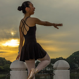 Ballet in City Park by Octavio Manuel Gerardo Silva - Sports & Fitness Other Sports