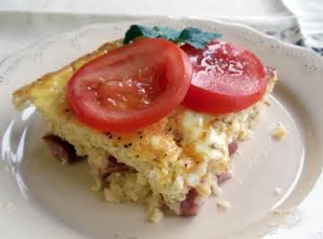Grits Breakfast Bake