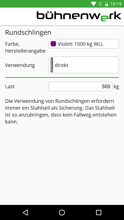 bühnenwerk – Screenshot