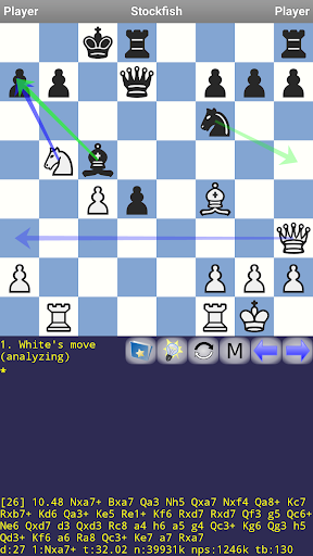 DroidFish Chess 1.72 screenshots 2