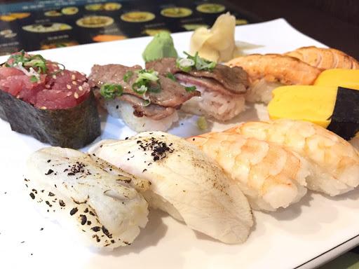 偏貴的價格讓我傻眼,壽司也還好,烤鮭魚肚是雷,應該不會再去吧