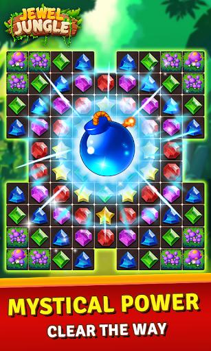 Jewels Jungle Treasure : Match 3  Puzzle apktram screenshots 3