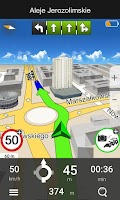 Screenshot of Navigation MapaMap Poland