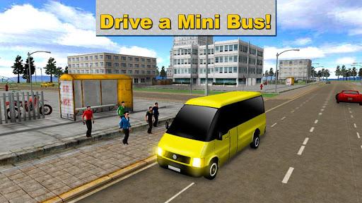 Minibus Driver: Simulator 3D