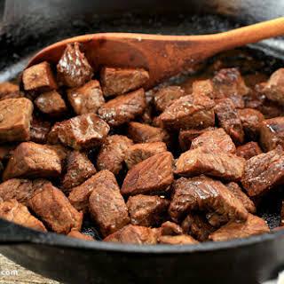 Skillet Steak Bites.