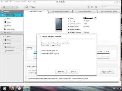 Lg kg800 firmware download