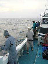 Photo: 今日は、大遠征!七里が曽根での「マグロ キャスティング」です!