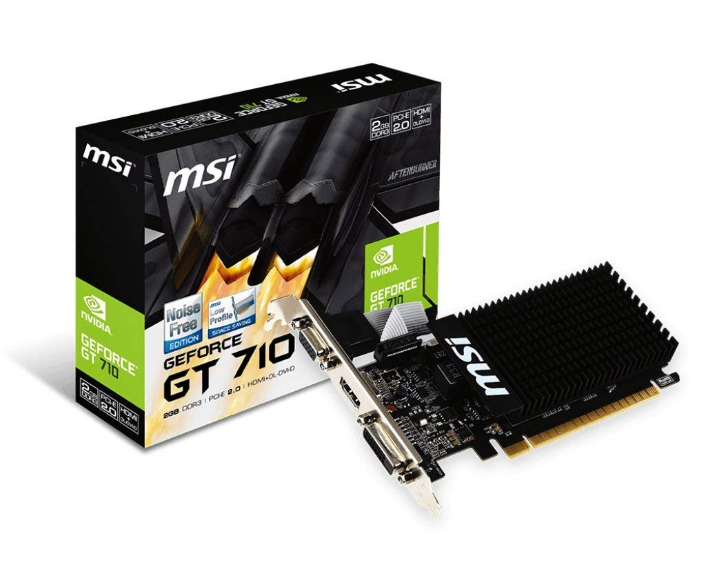MSI Geforce GT 710 2GB DDR3 Graphics card
