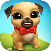 My Virtual Pet Dog 🐾 Louie the Pug