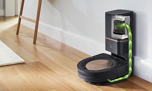 Robot vacuum emptying bin to docking station | Robot vacuum, Irobot, Irobot roomba